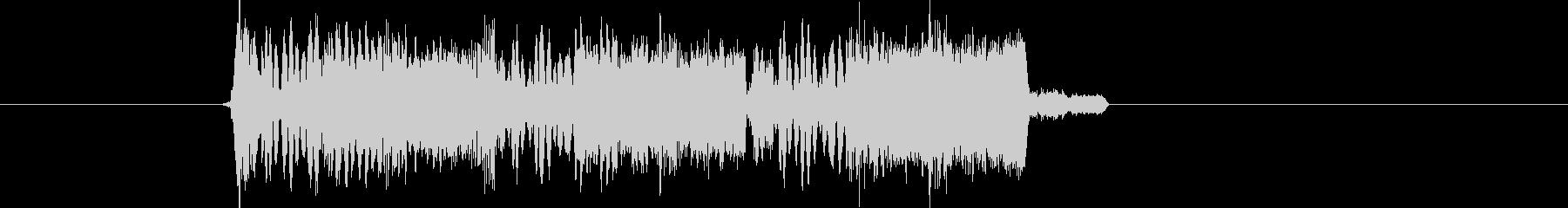 Vigorous synthesizer's unreproduced waveform