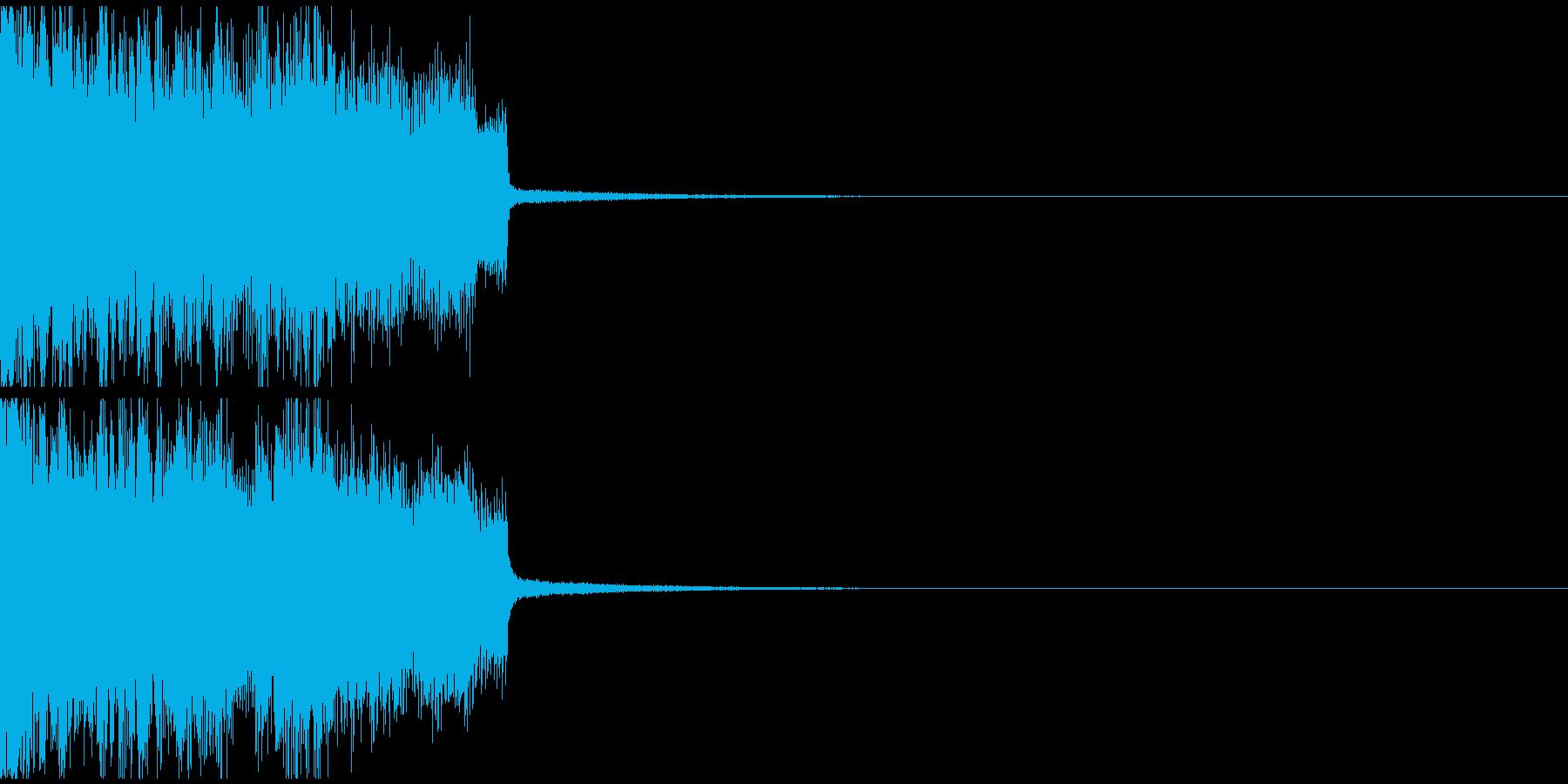ゲームオーバー メタルの再生済みの波形