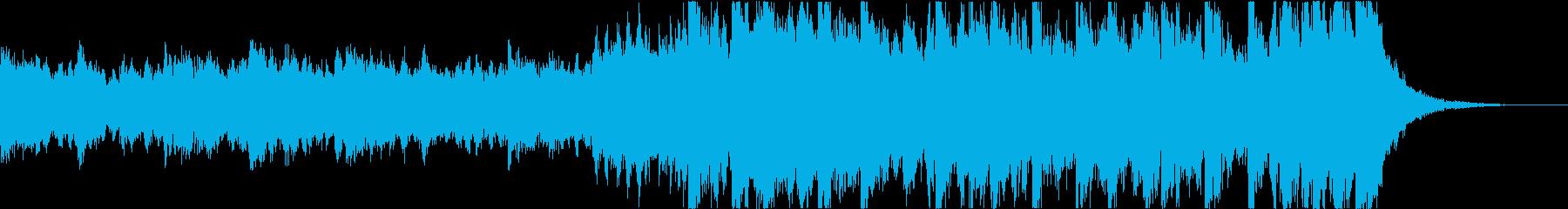 勇壮なエピックオーケストラジングルの再生済みの波形