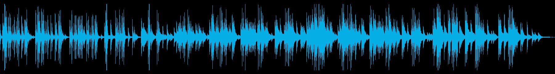 大きな古時計・ピアノアレンジ・童謡の再生済みの波形