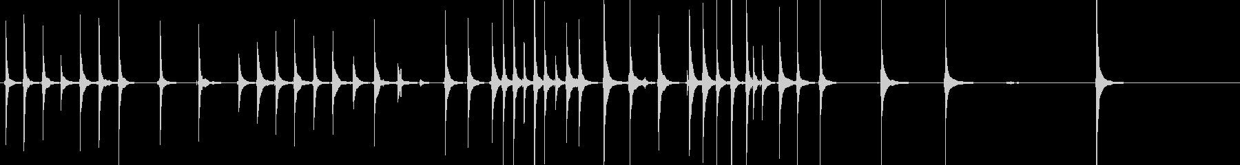 三味線96鷺娘28段切生音歌舞伎妖怪鷺雪の未再生の波形