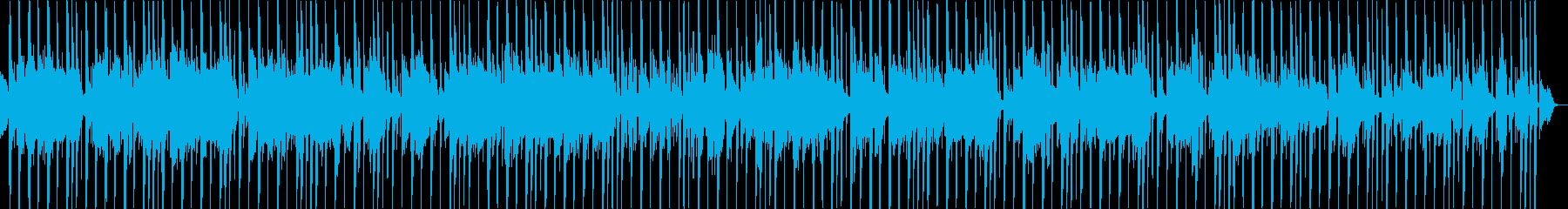 クールなヒップホップでジャズとポップ要素の再生済みの波形