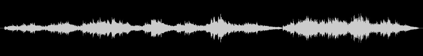 シューマン 作品12 飛翔 綺麗な部分の未再生の波形