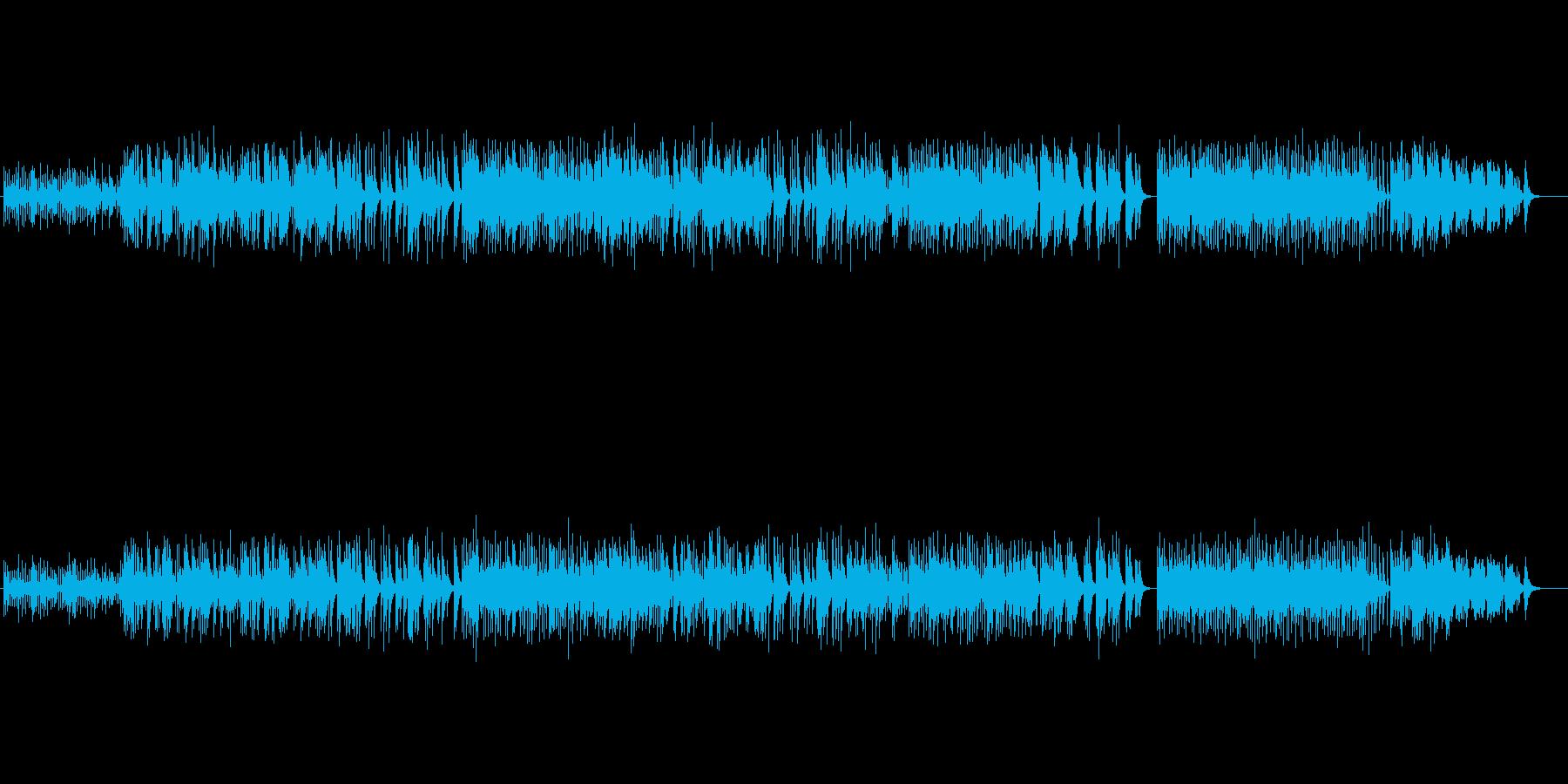 【癒しオルゴール】上品で綺麗なメロディーの再生済みの波形