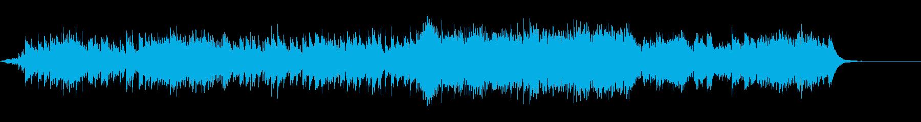 心機一転をイメージした明るく爽やかな曲の再生済みの波形