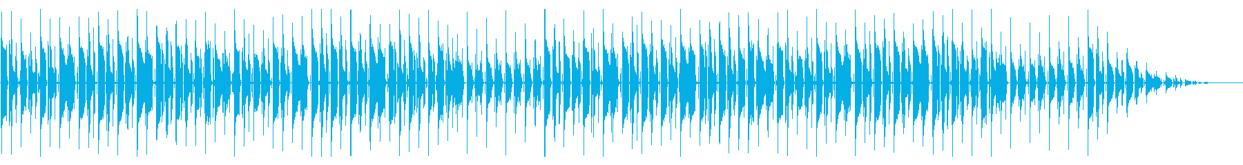梅雨に 童謡「かたつむり」脱力系アレンジの再生済みの波形