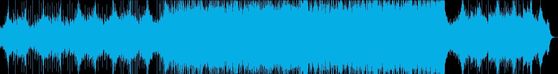現代的 交響曲 プログレッシブ 広...の再生済みの波形