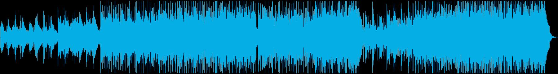 ロマンチックな音楽の再生済みの波形