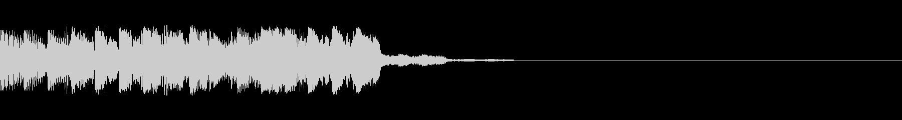 パチンコ的アイテム獲得音10(SU02)の未再生の波形