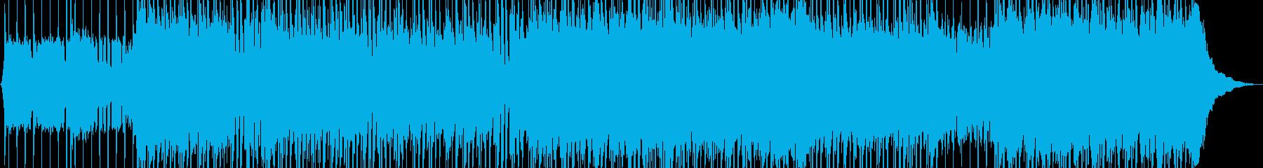 超高揚パンクを運転するの再生済みの波形