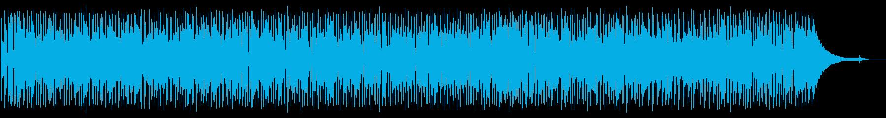 シックで落ち着いた雰囲気のBGMの再生済みの波形
