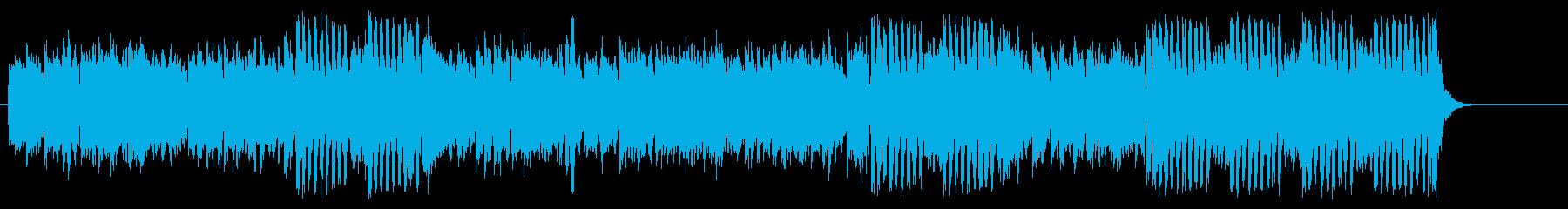 アンニュイなシャンソンテイストのワルツの再生済みの波形