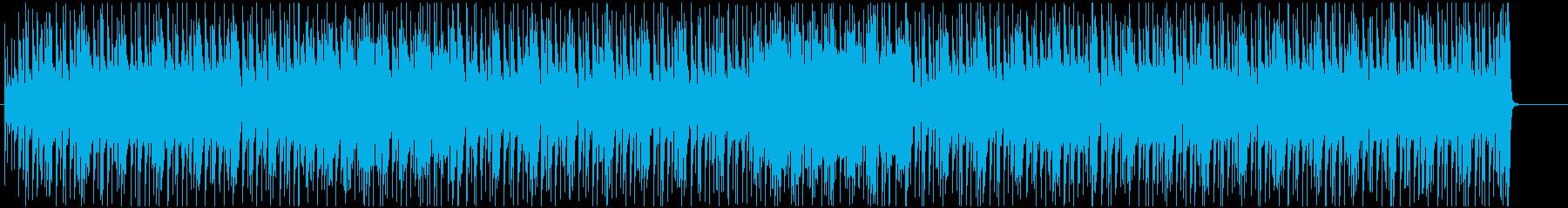 疾走感のブラスとブルージーなギターの再生済みの波形