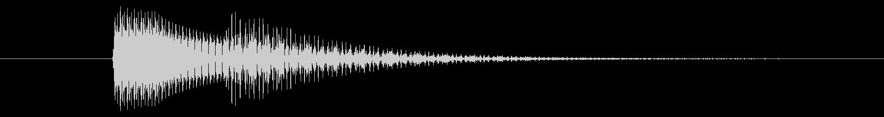 タラン↑/メニューを開く/電源ONの未再生の波形