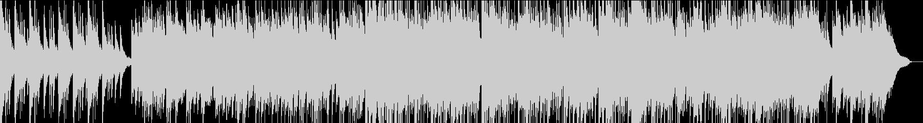 夏 夕方 センチメンタルなピアノBGMの未再生の波形