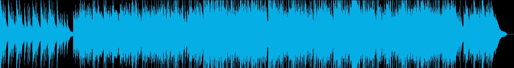 夏 夕方 センチメンタルなピアノBGMの再生済みの波形