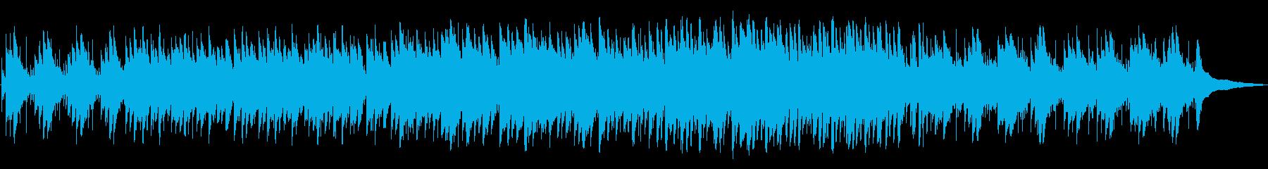 寝る前のひとときにぴったりなサウンドの再生済みの波形