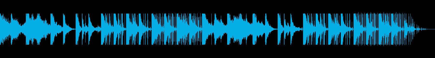 ローファイヒップホップ Lo-fi の再生済みの波形
