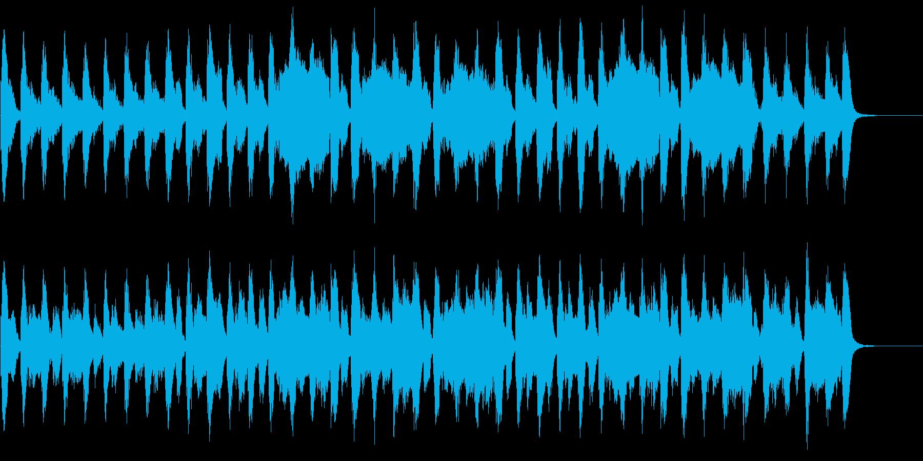 動画広告 30秒 トランペット 楽しいの再生済みの波形