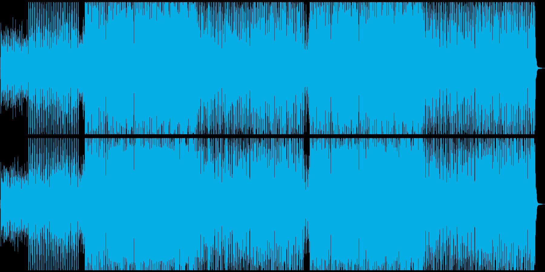 キャッチーなトロピカル風サマーポップスの再生済みの波形