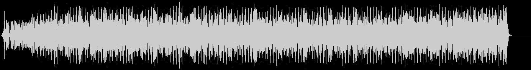 前向きでエネルギッシュなポップロックの未再生の波形