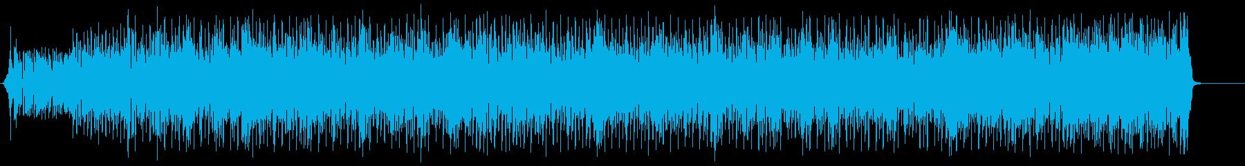 前向きでエネルギッシュなポップロックの再生済みの波形