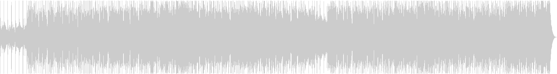 ギターのリフが入った王道のロックサウンドの未再生の波形