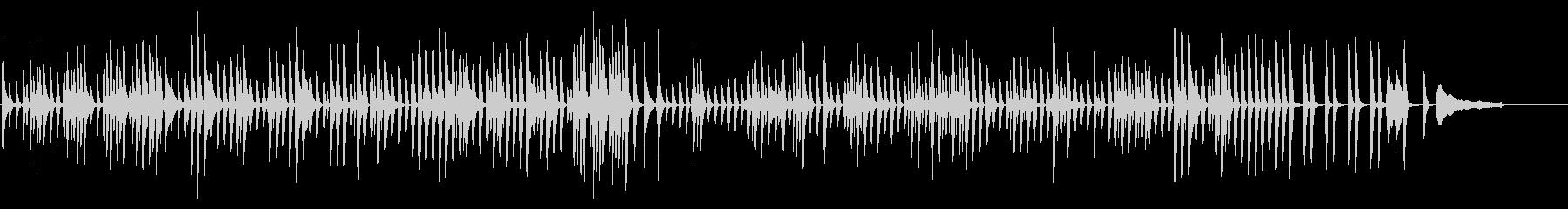 可愛いワルツ(ピアノソロ)の未再生の波形
