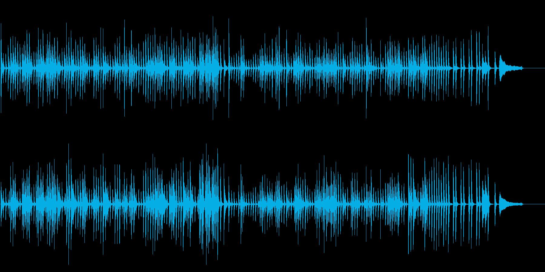 可愛いワルツ(ピアノソロ)の再生済みの波形