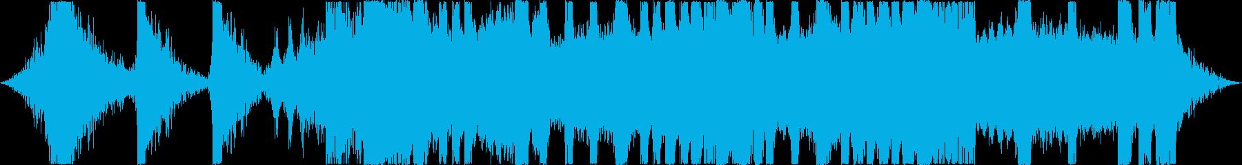 MADなシーンの演出系BGMの再生済みの波形
