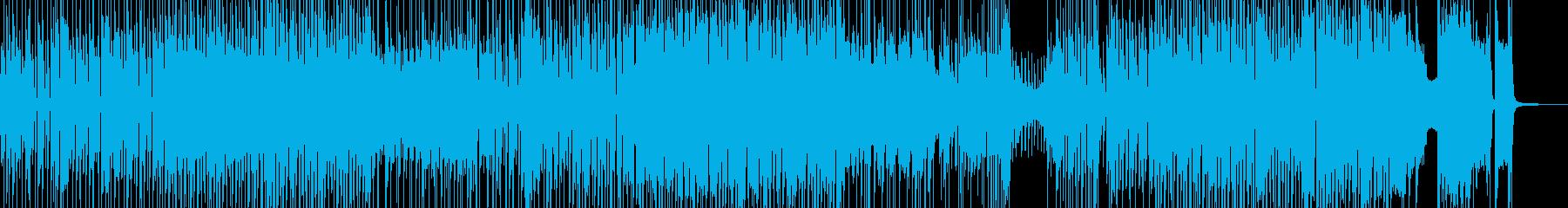でこぼこ田舎道・弾けるジャズポップ 長尺の再生済みの波形
