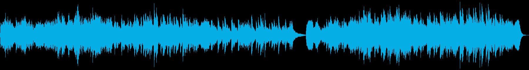 ヴィオラとピアノによる本格的なマズルカの再生済みの波形
