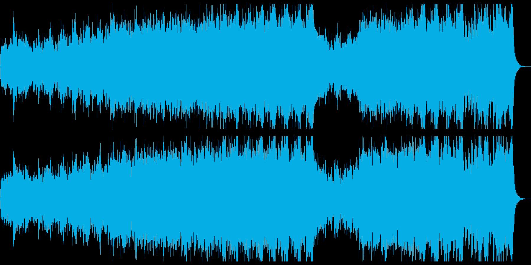 和風&ハリウッド風オーケストラ:鬼神の再生済みの波形
