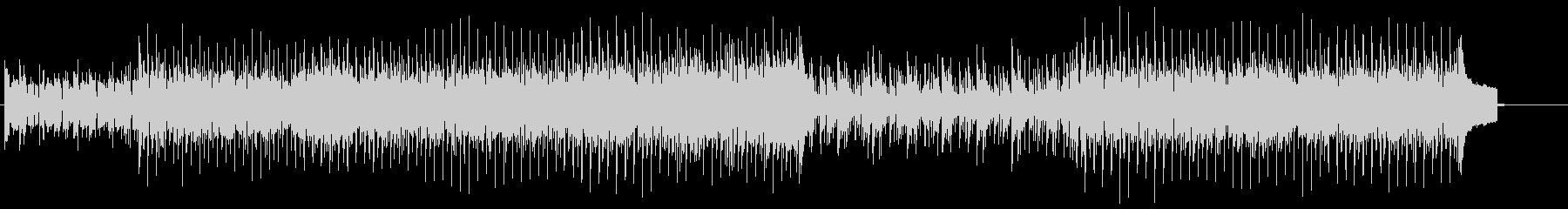 キュートでハウシーなリズムのエレ・ポップの未再生の波形