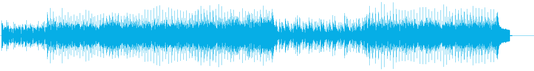 キュートでハウシーなリズムのエレ・ポップの再生済みの波形