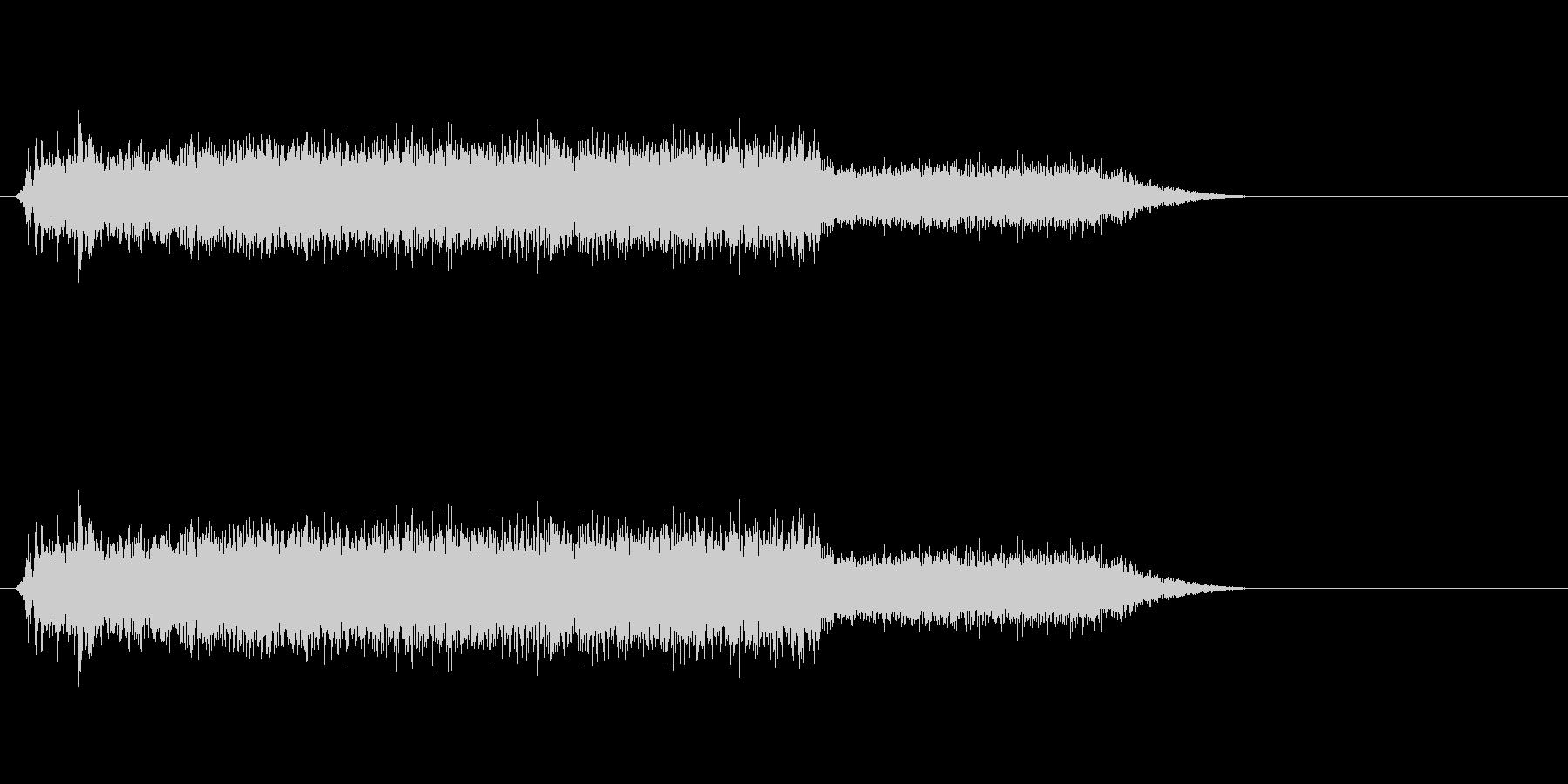 コピー機・レーザープリンタ動作音#1の未再生の波形