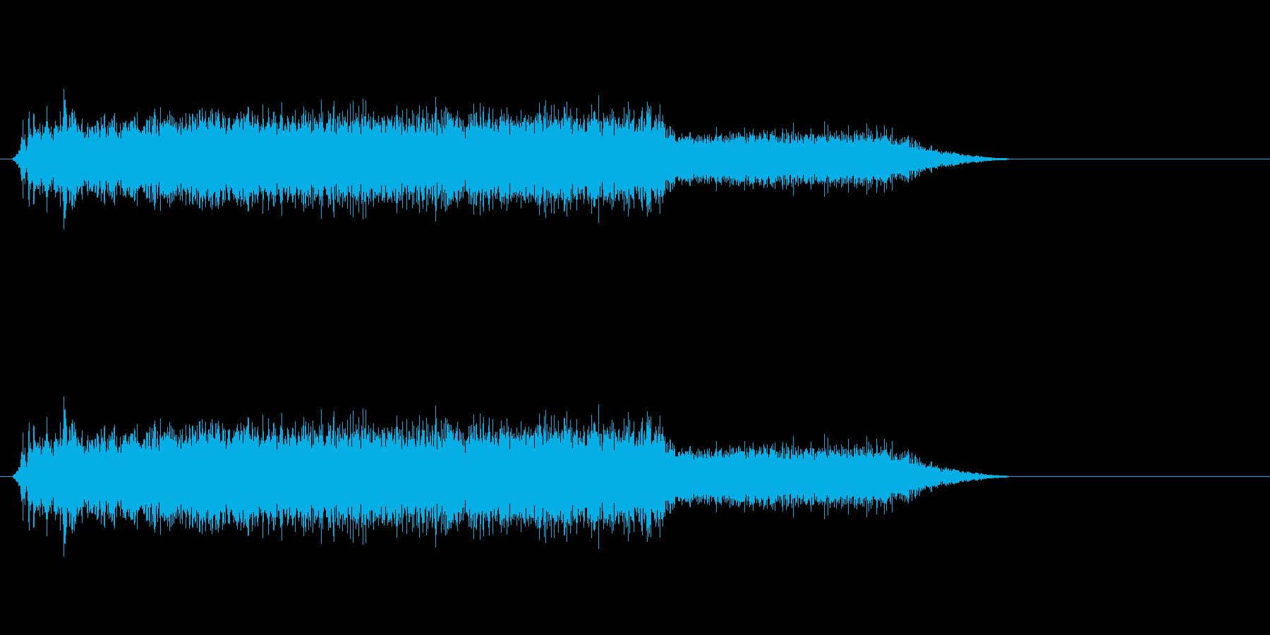 コピー機・レーザープリンタ動作音#1の再生済みの波形