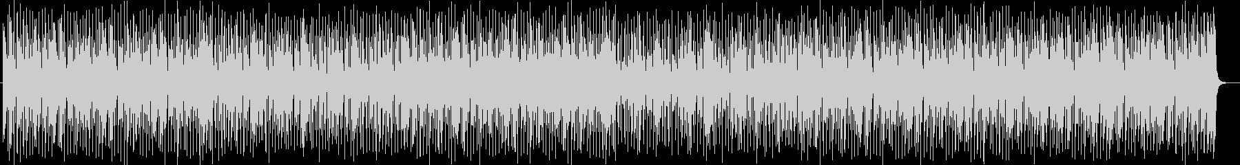 明るくトロピカルなシンセサイザーサウンドの未再生の波形