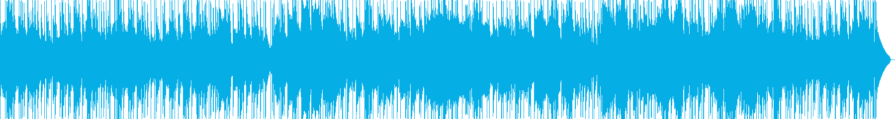 Lofi Chill なチルポップの再生済みの波形