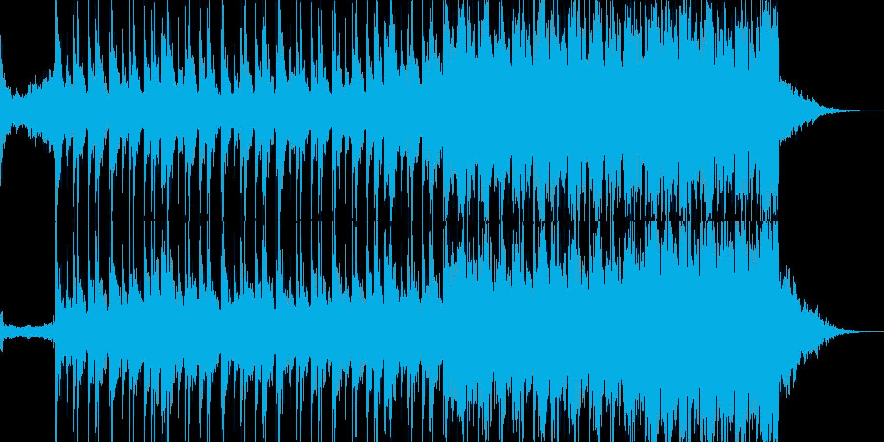 ジャジー、ブレイクビーツ、グルーブの再生済みの波形