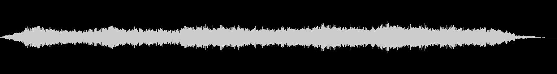 グライダーピッチベンドパッドの未再生の波形