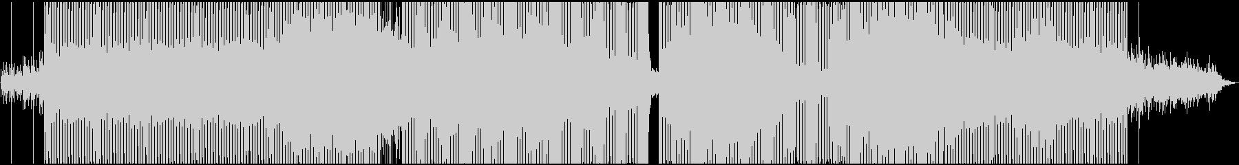自然(山,桜)をイメージしたテクノEDMの未再生の波形