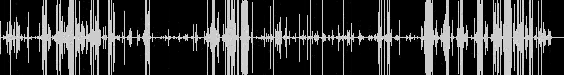 スライムを潰すパチパチという音の未再生の波形