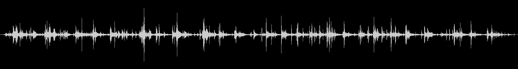 ハーネス ウォークシーケンス02の未再生の波形
