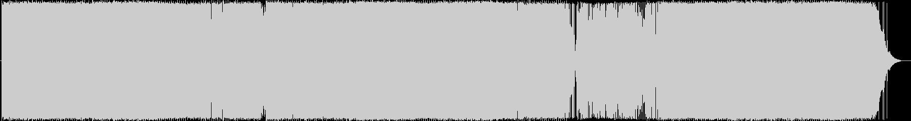いとしのファニー・ガールの未再生の波形