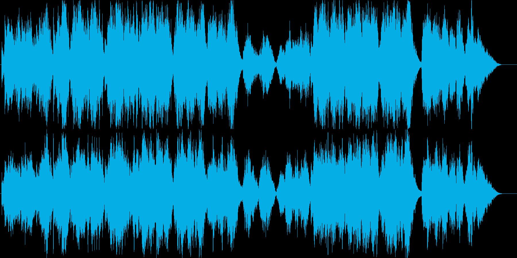 有名クリスマス曲・オーケストラアレンジの再生済みの波形