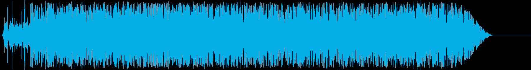 マンチェガボトルの再生済みの波形