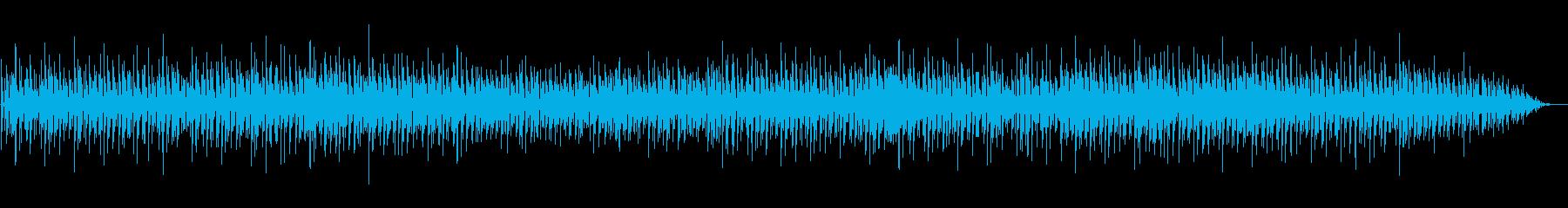 怪しい雰囲気のアンビエントの再生済みの波形