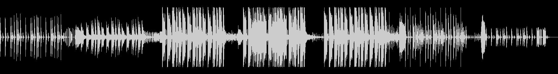 KANTエレクトロヒップなBGMの未再生の波形