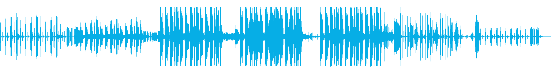 KANTエレクトロヒップなBGMの再生済みの波形